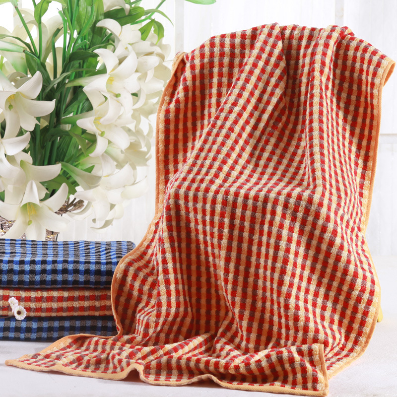 柔软吸水纯棉加厚加大浴巾
