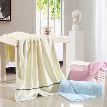 高档纯棉水立方浴巾 加大加厚实 柔软超强吸水大浴巾