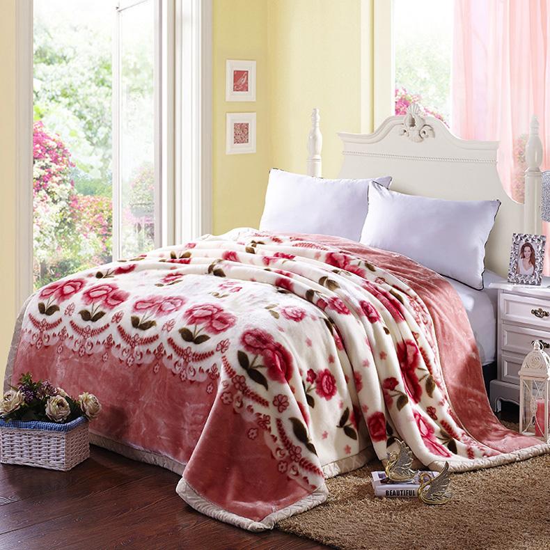 拉舍尔绒毛毯