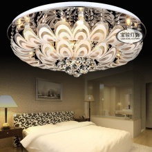 LED吸顶灯 现代低压七彩客厅水晶灯