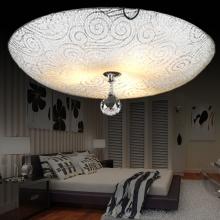 卧室吸顶灯 现代简约卧室水晶灯饰