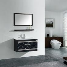 简约大气 镜面/置物架/主柜 浴室柜组合