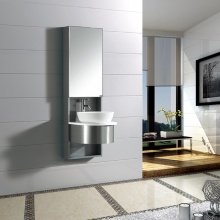 个性简约 镜面洗脸盆主柜一体 浴室柜