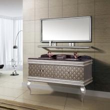 高档大气 美观双洗脸盆 浴室柜组合