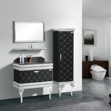 现代经典 镜面/置物架/侧柜/主柜 浴室柜组合