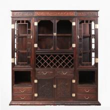 红木酒柜 红木客厅家具