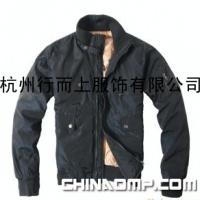 厂家直销 甲子三组无帽立领男装羽绒服JZ0133