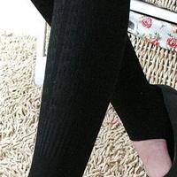 供应F52~日韩女装/时尚加厚罗纹麻花踩脚袜/踩脚裤