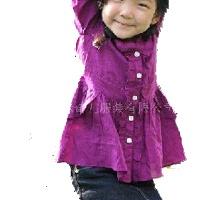 供应外贸童装衬衫 b2w2