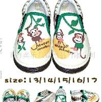供应日单童鞋 外贸童鞋批发 帆布鞋 JBB994