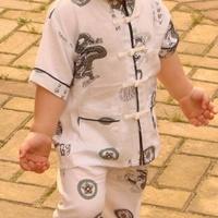 供应2010夏款唐装 婴幼儿两用裆唐装 真龙天子