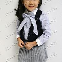 供应裙套装 B2W2学院春秋款四件套 女童套装