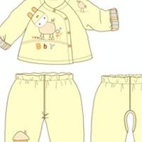 供应婴儿棉衣三件套