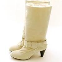 供应批发2010寒冬季进口毛绒舒适两穿高跟女短靴中筒靴
