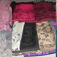 天然纤维:印花围巾