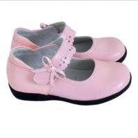 秋款明璐女童鞋皮鞋 黑色白色演出鞋方口表演鞋学生鞋