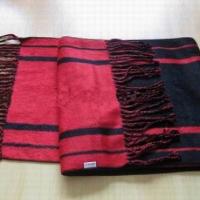供应竹纤维:机织起绒围巾