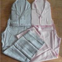 100%天丝纤维:机织大提花男女睡衣