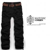 Matchic女裤情侣款 中低腰工装裤多袋休闲长裤