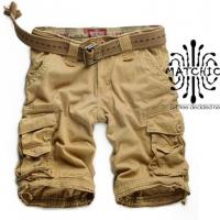 Matchic 男装 迷彩裤工装裤休闲裤多袋裤短裤