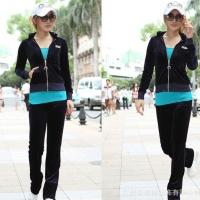 2012女新款休闲时尚运动套装