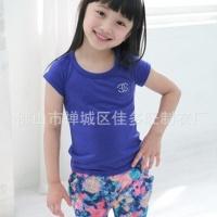 韩版童装新款童T长袖女童
