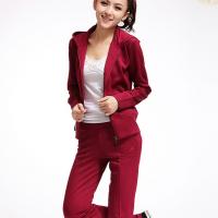 南韩丝女式休闲运动套装长袖长裤运动服休闲服