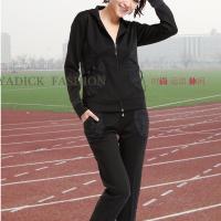 秋冬修身=新款长袖长裤时尚休闲运动服套装= 款型