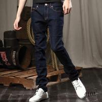 男修身牛仔裤