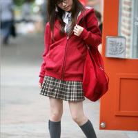 女装学生韩版休闲运动套装开衫带帽卫衣