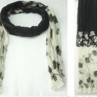 时尚花朵围巾.现货