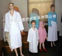珊瑚绒、全棉毛巾浴袍睡衣